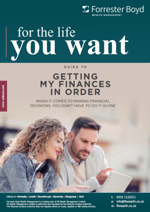 Getting finances in order