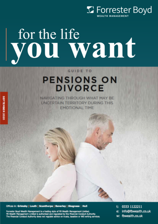 Pensions on divorce