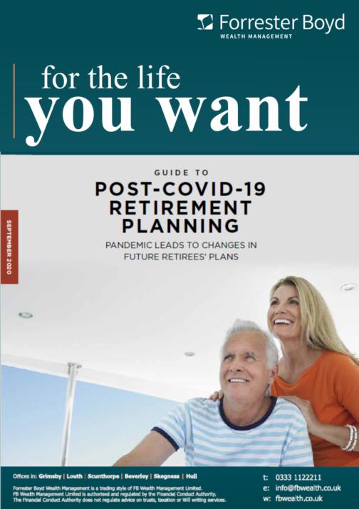 Post covid 19 retirement planning