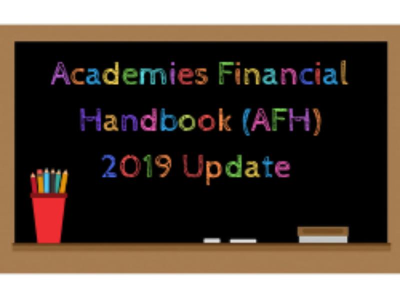 Academies Financial Handbook Afh 2019 Update 1