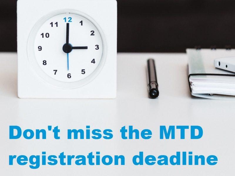 Mtd Deadline
