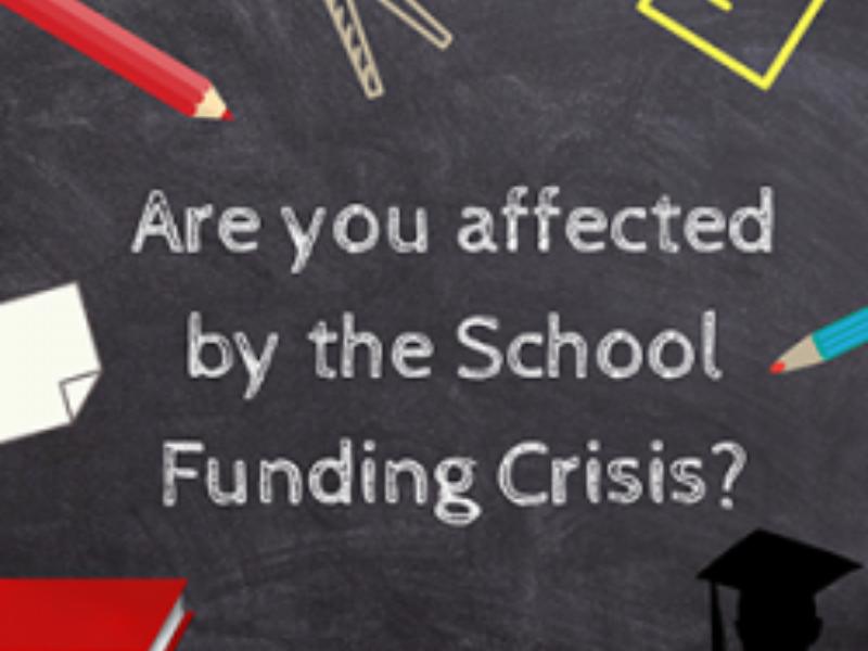 School Funding Crisis Square 250 X 250 250X250