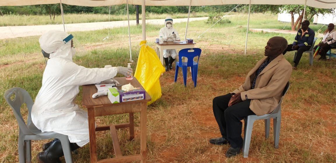Testing ved FA-sykehus under korona-pandemi, Afrika