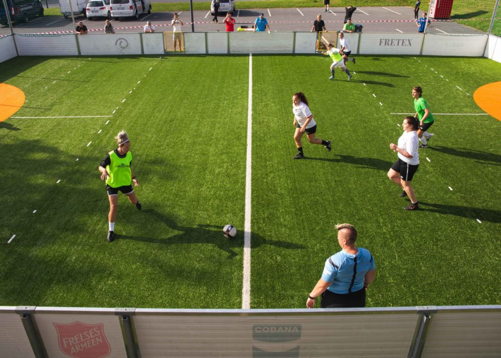 Gatefotball Jeløy August 2020