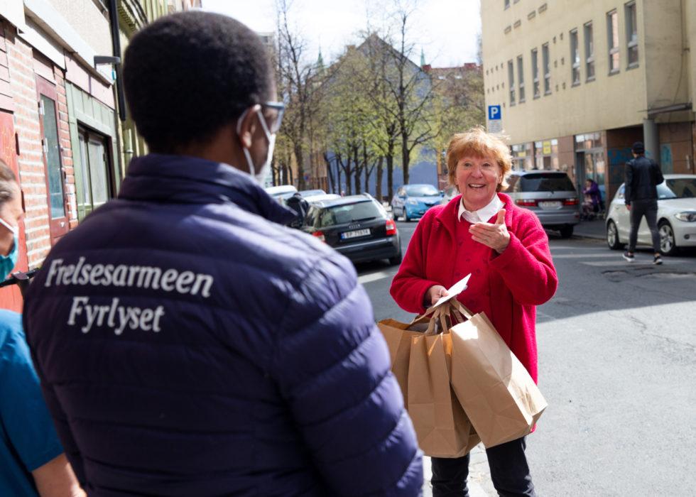 Marianne Borgen hedret Fyrlyset og feltpleien 2