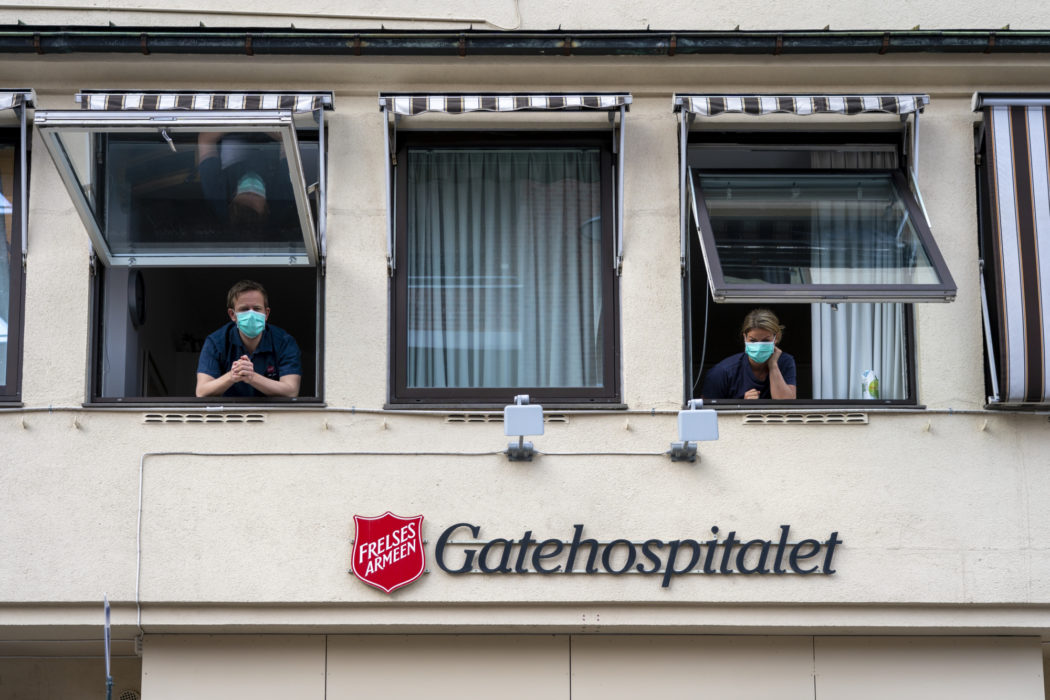 Leger gatehospitalet korona