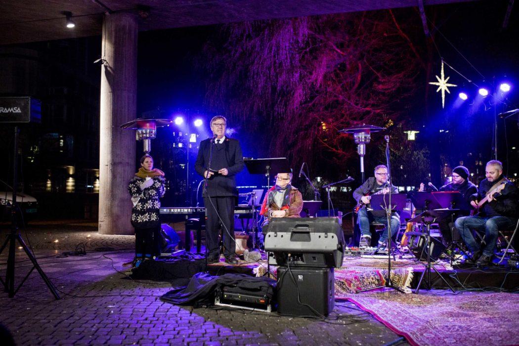 Under broene 2020 julekonsert konsert frelsesarmeen