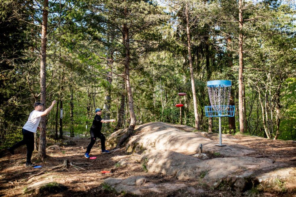 Disc golf Tønsberg nettverk 7