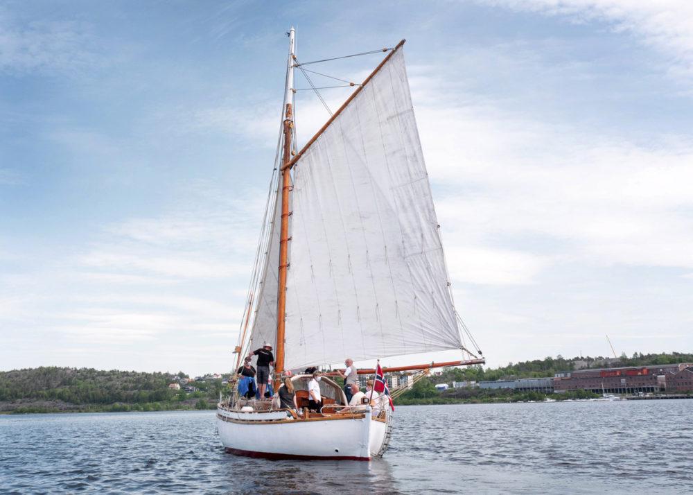 Friskt seilas 1 Bergerbåten