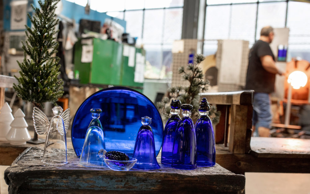Hadeland Glassverk julekrybbe 1