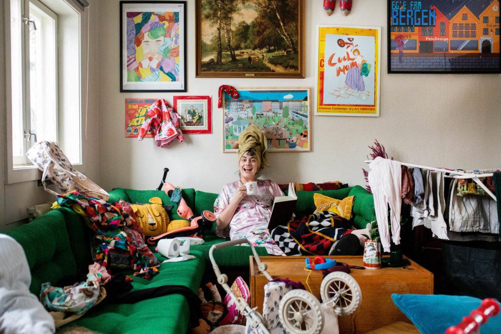 Kos i kaoset Julie Valsø 1
