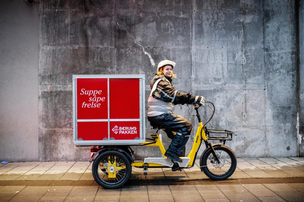Matlevering sykkel 1