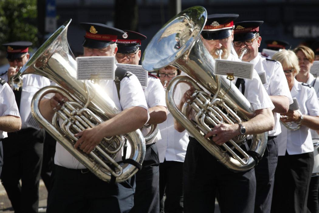 Frelsesarmeens musikkseksjon-hornmusikk