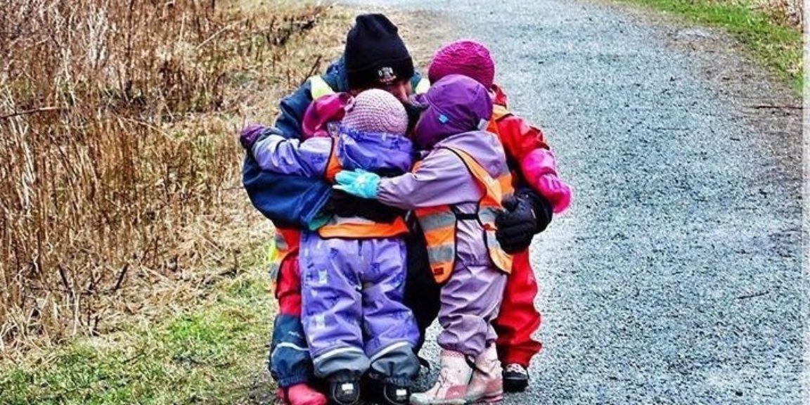 Auglendsdalen barnehage på tur