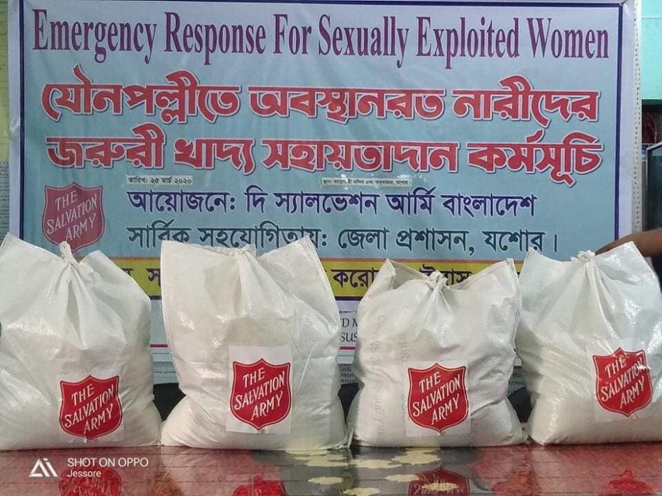 Koronabistand seksuelt utnyttede kvinner Bangladesh