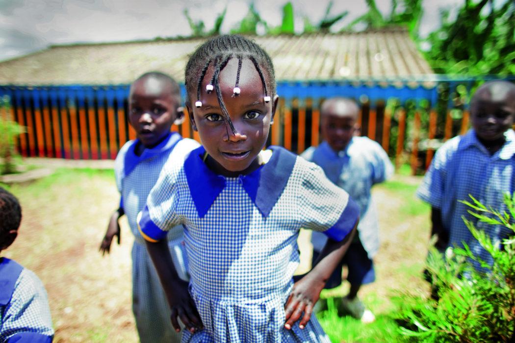 Fra Frelsesarme-skole i Afrika