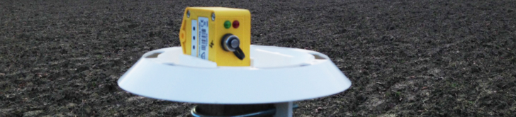 Tinytag Plus data loggers monitoring growing conditions in vineyards