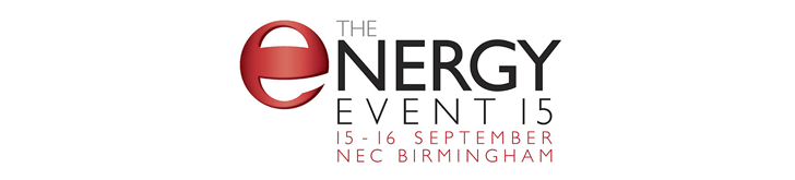 The Energy Event 15, 15-16 September, NEC Birmingham