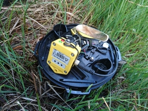Peak District rainfall monitoring Tinytag Re-Ed data loggers