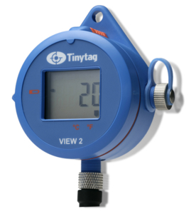 BS EN 12830 compliant temperature data logger - Tinytag View 2 TV-4020