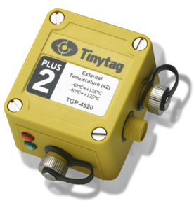 External Thermistor Probe data logger, Tinytag Plus 2
