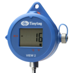 TV-4076 Tinytag View 2 temperature data logger with stab probe and digital display