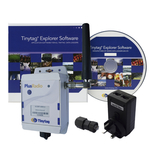 Tinytag Plus Radio Ethernet receiver and software pack - including PoE & RJ45 shroud
