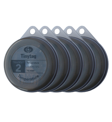 TG-4081-X5 Tinytag Transit 2 grey temperature data loggers - pack of five/multipack
