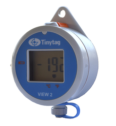 Tinytag Dry Shipper cryogenic data logger for nitrogen dry vapour flasks