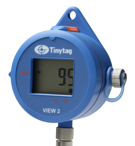 TV-4104 Tinytag View 2 high temperature data logger with digital display for PT100 probe