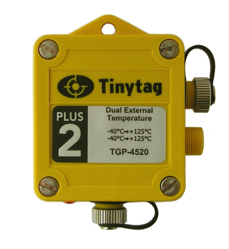 TGP-4520 Tinytag Plus 2 dual external temperature data logger - top view