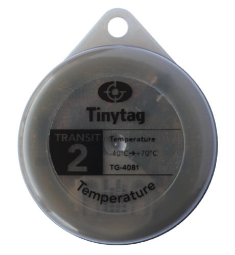 TG-4081 Tinytag Transit 2 grey temperature data logger - top singular view
