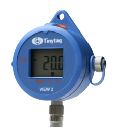 TV-4505 Tinytag View 2 temperature and relative humidity probe data logger with digital display