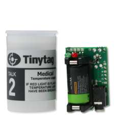 TK-4014-MED Tinytag Talk 2 medical temperature data logger with 35mm film canister case