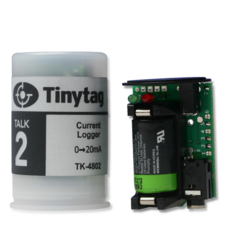 TK-4802 Tinytag Talk 2 voltage input data logger with 35mm film canister case