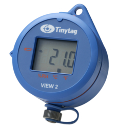 TV-4500 Tinytag View 2 temperature and relative humidity data logger with digital display