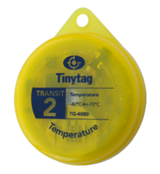 TG-4080 Tinytag Transit 2 yellow temperature data logger - singular view