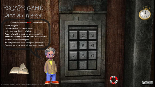 Escape Game Jazz Au Tresor By Fabienne Miqueu On Genial Ly