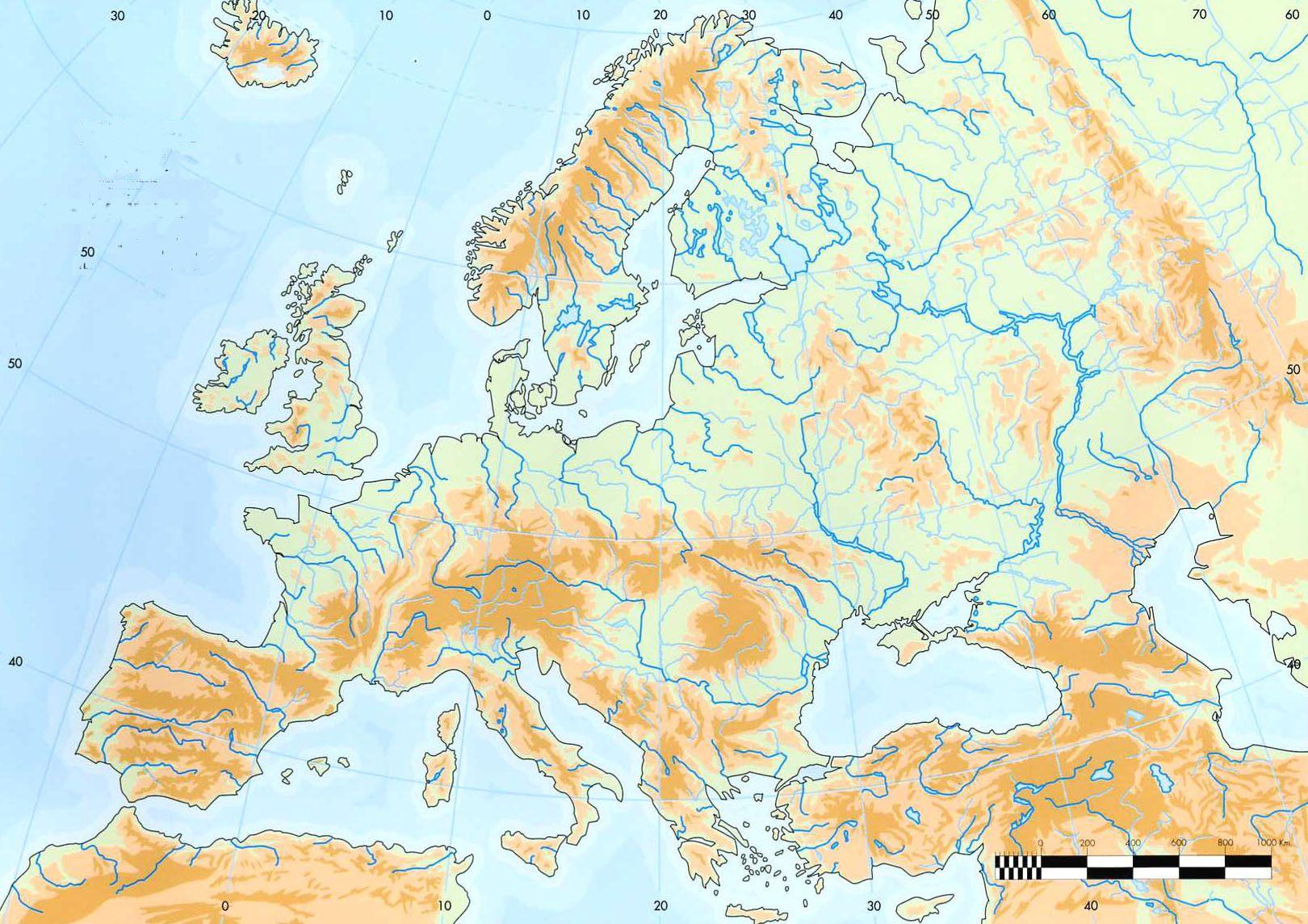 Mapa Europa Fisico Rios.Mapa Fisico De Europa By Jorgeqnc On Genial Ly