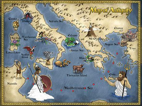 La Odisea De Homero By Alejandroaguilarbravo On Genial Ly