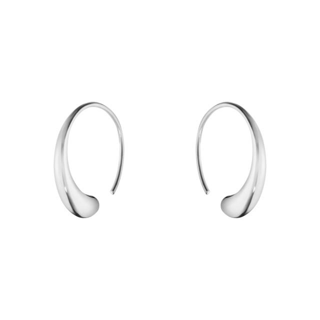 10015603 Mercy Large Earhoop 634 F Silver 01 Jpg Max 3000X3000 469142