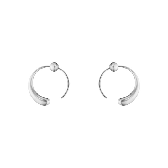 10015603 Mercy Large Earhoop 634 F Silver 02 Jpg Max 3000X3000 469143