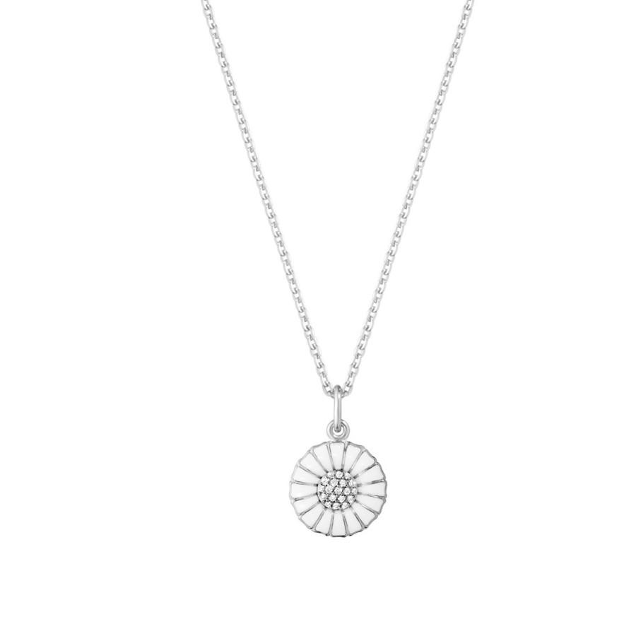 10010534 Daisy Pendant Silver Rh White Enamel 11 Mm Diamond Pave 0 051 Jpg Max 3000X3000 444511 Crop