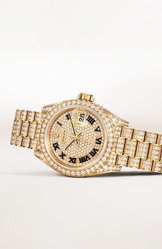Lady Datejust Rolex Watch photo