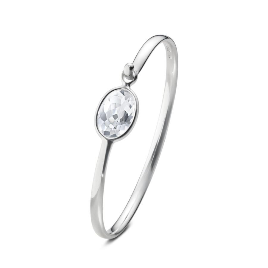 Savannah Rock Crystal Bangle