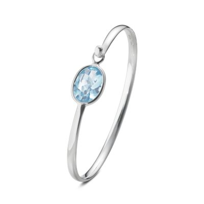 Savannah Topaz Bangle