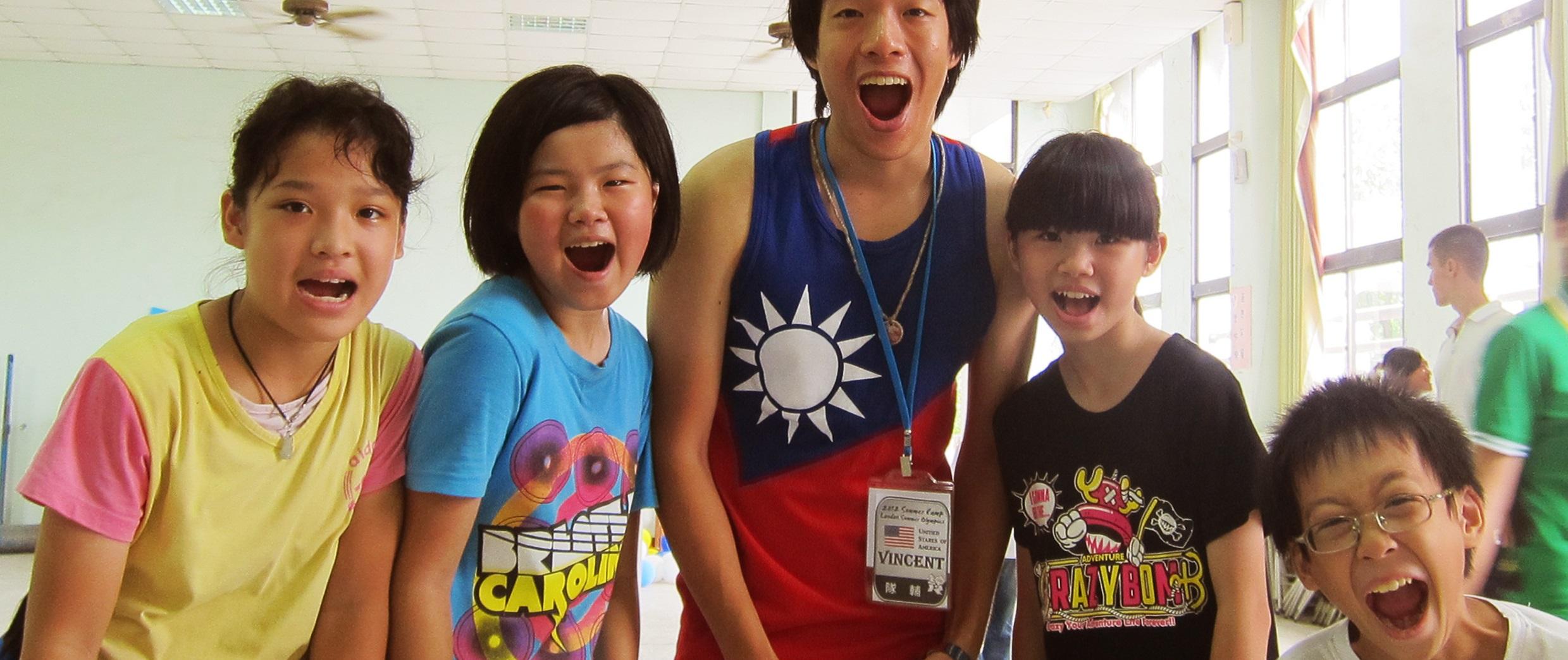 Global Volunteer   Taiwan- Dream Beyond Language- Nan He
