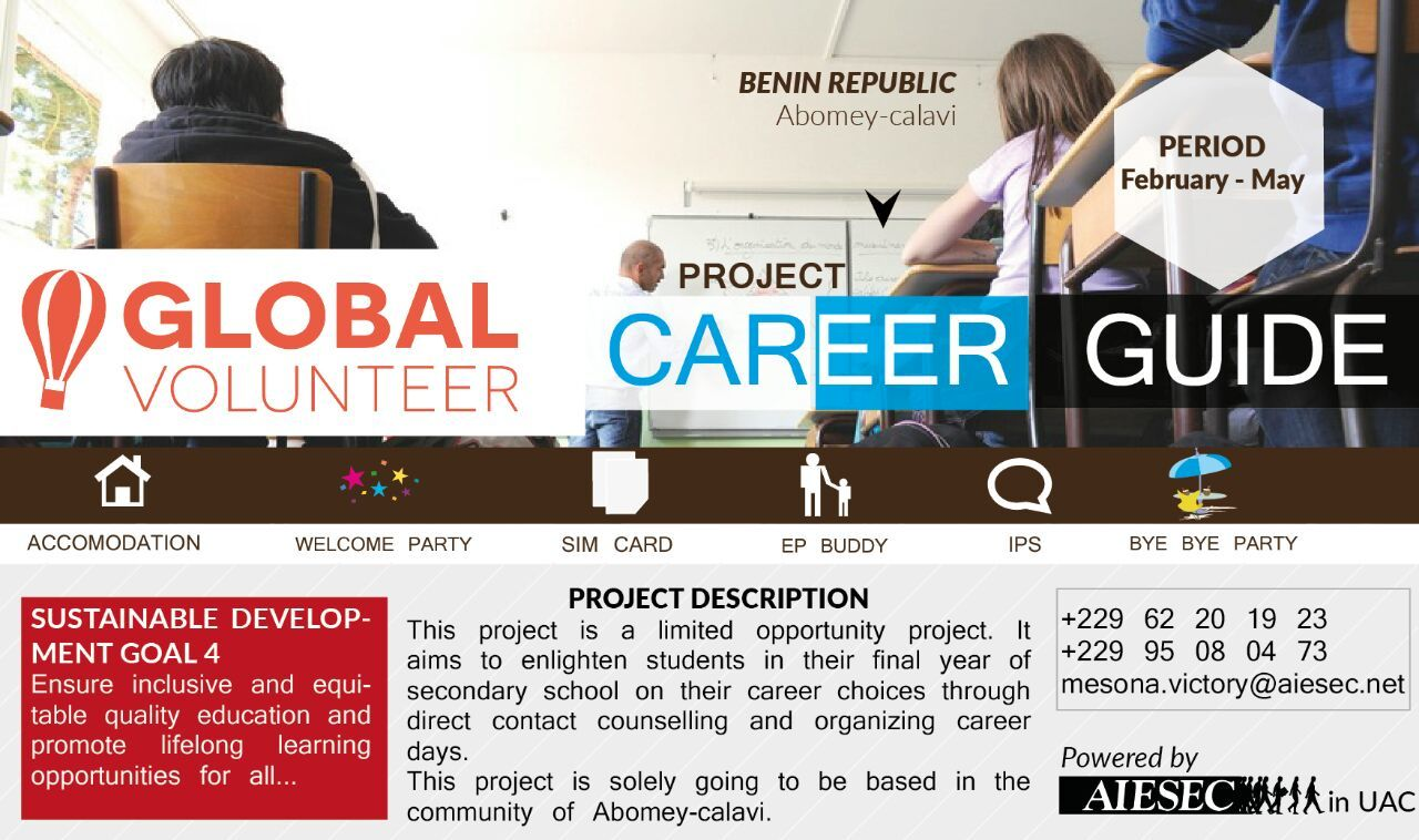 volunteer career