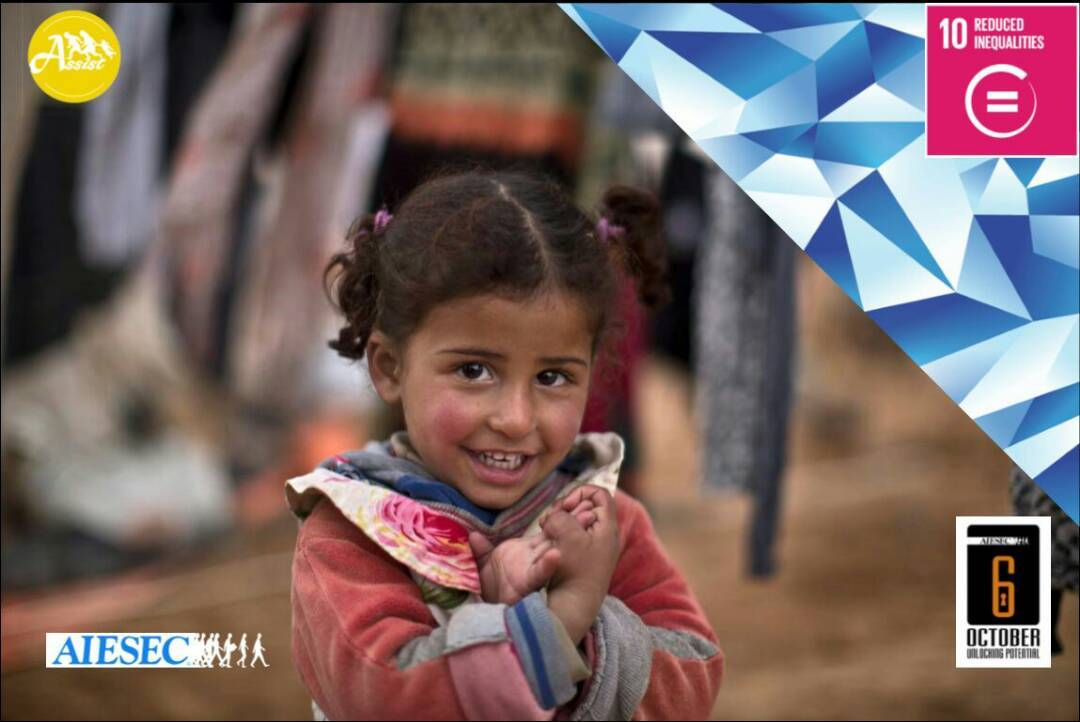 Assist Supporting Refugees - Reduce Inequalities In Egypt