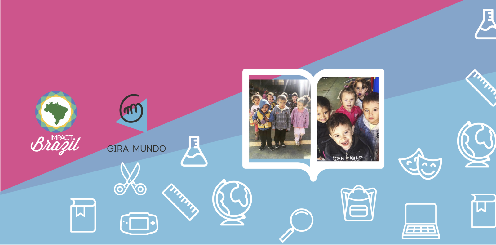 Gira Mundo - Working for quality education in São Carlos